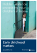 Cover for How Persistent Fear and Anxiety Can Affect Young Children's Learning, Behaviour, and Health